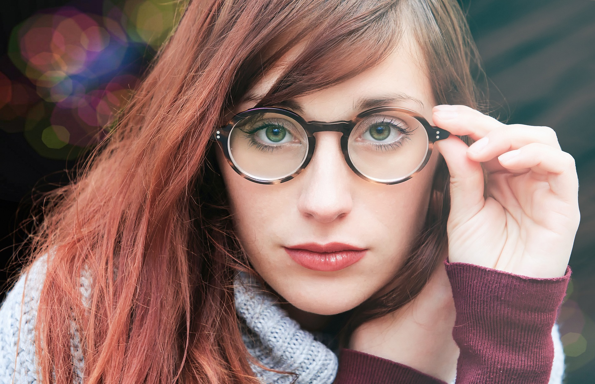 レディース伊達眼鏡